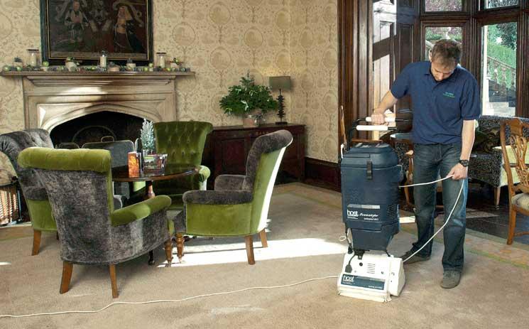 host carpet cleaning machine
